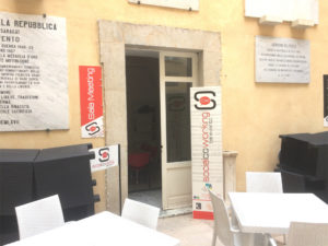 Ingresso Sala Conference e Coworking